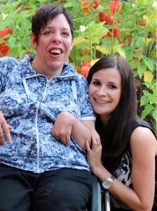 Verena und ihre Cousine Heike